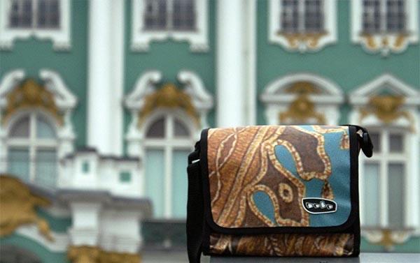 сумки и рюкзаки из рекламных баннеров