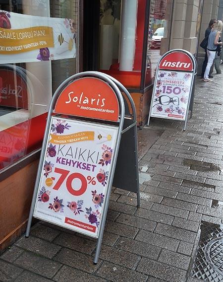 наружная реклама в Хельсинки