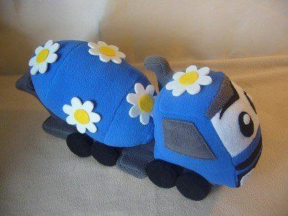 игрушечная бетономешалка